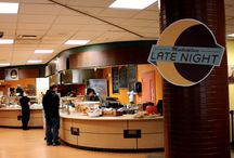 NMU Dining Options / NMU has many dining options on campus available to students. From Melted to Fieras, NMU has your mid-studying cravings covered fast. / by Northern Michigan University