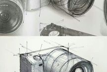 sketches of desing industrial
