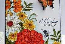 Corner Garden Stampin' Up! Stamp Set Greeting Cards