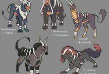 Pokemon variantions