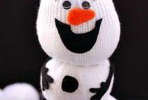 Weihnachts und Winterbasteln mit Kindern