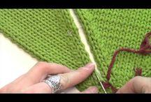 Pletenie - zošívanie pletenych dielov spolu