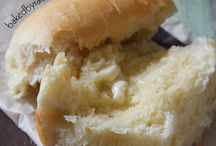 bread rolls and bread