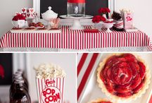 Red Party ★ Sweet Tables / Red Sweet Tables, party idea's and inspiration
