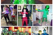 School concert costumes