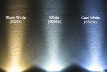Warm and Cool White LED