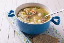 Cuisine : bouillon, potage, soupe