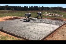 Pouring Flat Concrete / Sharing some photos and a video of some flatwork we love to do for our customers