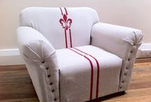 Reupholster / by Stephanie Hester