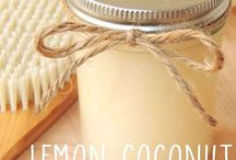 hair treatment using coconut oil.