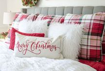 My Christmas bedroom ideas