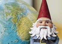 <<< gnomes >>> / by Curt R. Jensen