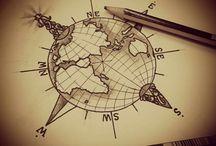 Tatouages De Globe
