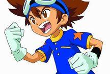 0173Foxy03 Anime Manga Digimon