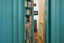 bookshelf & bookshelf door