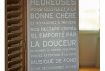 CAPUCINE IDEES BRICO DECO / repérage d'idées pour confection maison ( couture, bricolage, bijous, peinture, chantournage, etc... ) fait-main. pour inspiration