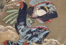 3 Ukiyo-e masters / Birth of full-colour printing 1740s to 1780s