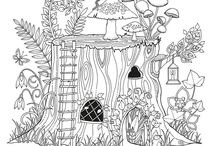Coloring pictures - print