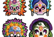 Day of The Dead Art / by A Fairytale Wedding  & Tabatha's Creations