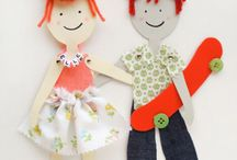 Bonecas de papel / by Elizabeth Maia