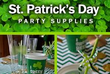 Party Ideas - St. Patrick's Day / St. Patricks day only happens in March, but that doesn't mean you can't dream about the ultimate St. Paddy's day party all year round. Stay up to date on the latest inspiration for your Shamrock themed party! You'll find inspiration for kids and adults! / by Shindigz Party Supplies