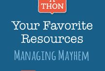 Share-a-thon: Managing Mayhem / We're going to get better together by crowd sourcing the best and brightest ideas. YOU will be the rock stars that shine on Teaching Channel's stage through your tips, tricks, knowledge, and wisdom. This month, we're focusing on Managing Mayhem. What are your favorite classroom management resources?