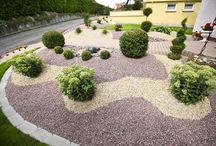 Gartengestaltung mit steine
