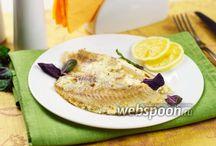 Рецепты с рыбой и морепродуктами
