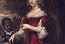 Portret kobiecy XVII niderlandy
