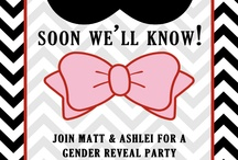 Gender reveal / by Nicole Bayler