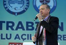 Sayın Cumhurbaşkanımız ile Trabzon Toplu Açılış Töreni