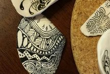painting on shells