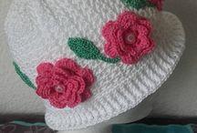 chapeau coton petite fille