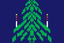 "xmastree / This is my Christmas game. My idea, my graphics. Programing by Laszlo Takacs  Shoot the ""enemies"" (gifts, cookies, Snowmen etc) with an X-mass tree. Trully Christmas mood *pixelized arts *great gameplay *X-mass  You can download the game here: http://apps.opera.com/xmass_tree.html?dm=1&multi=1&redir=1"