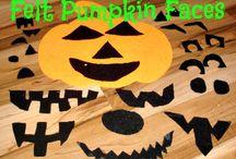 preschool pumpkin theme / by Alise Erdlen