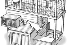 Goat Houses and Runs / by Chicken Hearted
