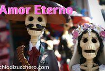 Matrimonio a tema Dia de Muertos