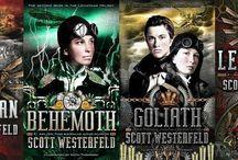 Scott Westerfeld - Leviathan / Lo que más destaca de Leviathan, es el ambiente donde se desenvuelve la historia; la historia se lleva a cabo en la 1ra Guerra Mundial con algunos cambios históricos y muchos elementos al estilo Steampunk.