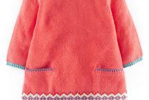 девичьи платья вязанка