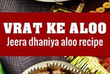 Vrat ka Khana - Indian Vrat recipes