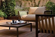Mobiliario de exterior / Diseño y confort para tu mobiliario de exterior.