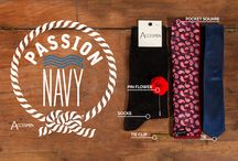 Accesmen--Passion Navy Look