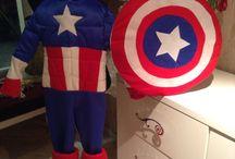 Captan Amerika dıy costüme / Elişi kostüm