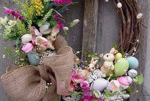 Пасхальный декор  Easter decor / Варианты декорирования к Пасхе
