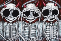 Death day / Skeleton Art