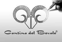 Cantina del Bovale - Label Wine - Immagine e comunicazione / Label Wine design. Studio e realizzazione immagine e comunicazione (logo, etichette vini, immagine coordinata, campagna pubblicitaria, ecc.) per Cantina del Bovale - Terralba (OR) Sardegna - ITALY