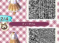 QR code vêtement acnl