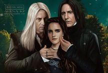 Lucius,Hermione and Severus