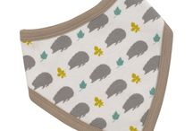 Organic Cotton, Dribble Bibs / Cute organic bandana style bibs great for babies and toddlers. Our 100% organic cottons not only soft on skin but  available in adorable styles and colours, gentle on skin and helps prevent dribbles soaking through to clothes and skin.