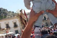 SICILY - SCICLI (SETTIMANA SANTA) / Pasqua a Scicli 2015 - Manifestazione detta JOIA